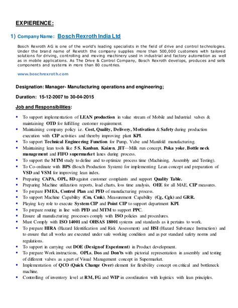 Process Improvement Specialist Resume by Ketul Resume