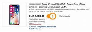 Iphone Auf Raten Kaufen : iphone x auf ebay kaufen 4999 euro f rs neue iphone ~ Kayakingforconservation.com Haus und Dekorationen
