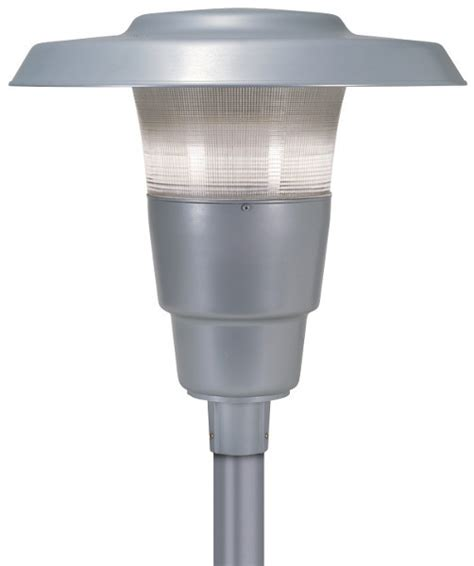 hubbell lighting announces led upgrade to spaulding post