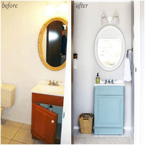 Builder Grade Bathroom Mirror by 5 Simple And Inexpensive Ways To Update A Builder Grade
