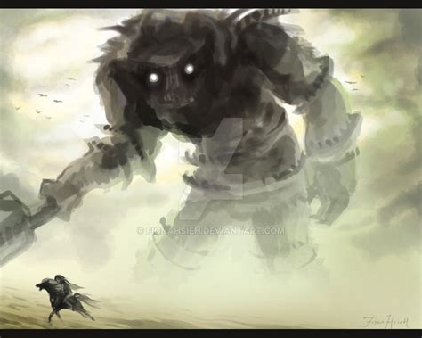 Shadow Of The Colossus By Fionahsieh On Deviantart