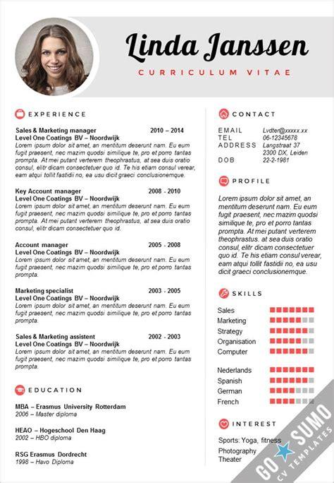 curriculum vitae layout template 52 best go sumo cv templates resume curriculum vitae