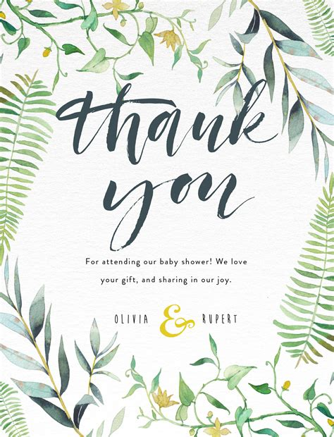 design the you baby shower thank you cards designs by creatives