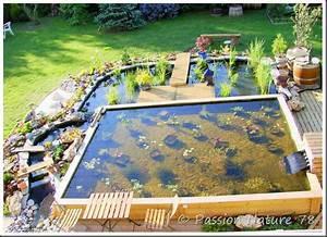 Filtration Biologique Pour Bassin A Poisson : fabriquer un bassin a poisson exterieur reims maison ~ Premium-room.com Idées de Décoration