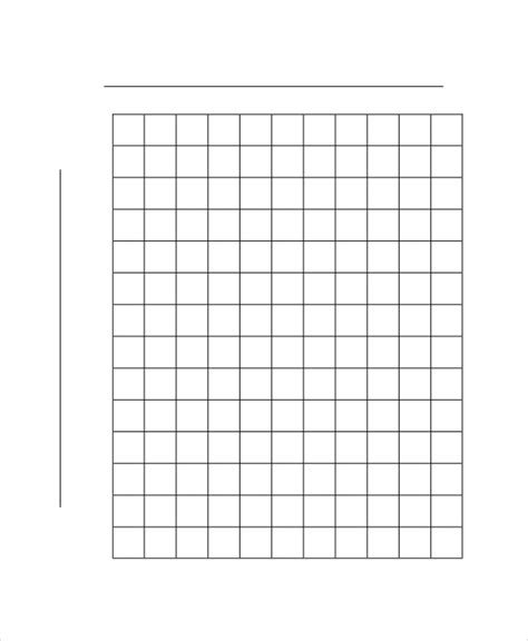 graph paper template   word  documents