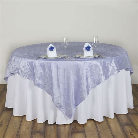 wholesale table linens for weddings 6 pcs 72x72 quot square pintuck table overlays wedding linens