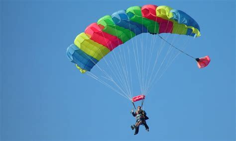 Parachute Dive by Sedona Arizona Skydiving Sky Diving Alltrips