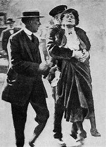 Emmeline Pankhurst 1858-1928 A British suffragette, Emily ...