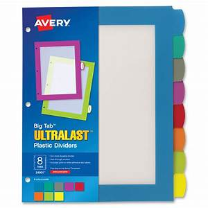 Avery write wipe a6 sheets 102 x 152 mm ave24901 for Avery 3 tab dividers