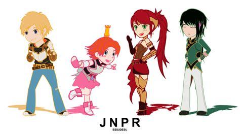 wallpaper engine anime sleeping rwby chibirwby series animated loop team jnpr by