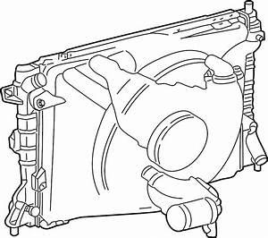 Mercury Grand Marquis Cooling Module  4 6l Sohc  W  O