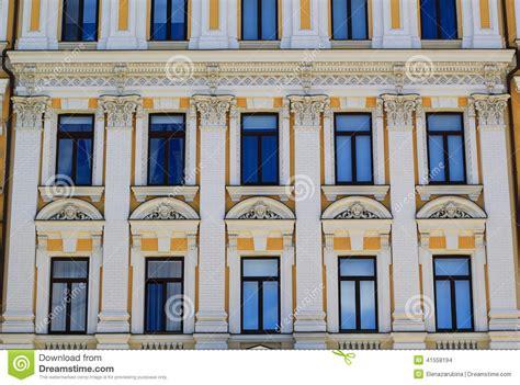 European Style Building Exterior Stock Photo Image of