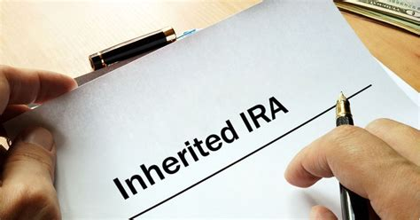 ira inherited taxes beneficiary rules statistics understanding
