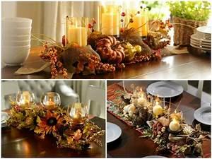 Dco Table Automne Ides Et Astuces De Dcoration