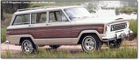wood panel jeep cherokee the allure of the automobile sweet iced tea