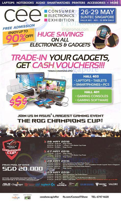 Consumer Electronics Exhibition 19 May 2016 » Consumer Electronics Exhibition (CEE) at Suntec ...