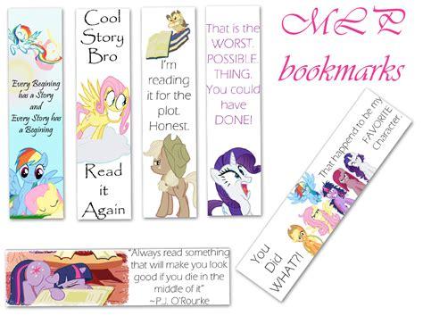 Mlp Bookmarks By Lovergirl786 On Deviantart