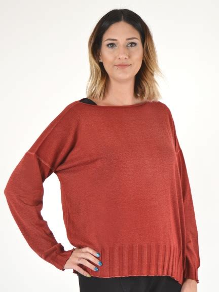 Planet Boat Neck Sweater by Overdyed Boat Neck By Planet At Hello Boutique