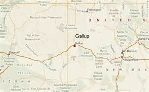 Gallup New Mexico Map