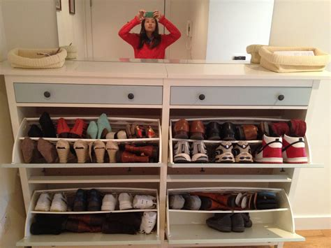 ikea shoe closet fascinating ikea shoe closet design installed at