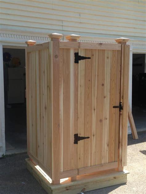 cape  outdoor shower company modular outdoor shower