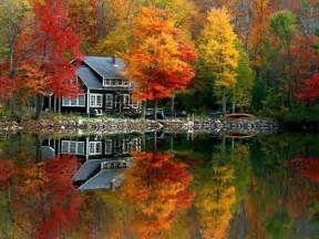 Lake House In Autumn ? A Pondering Mind