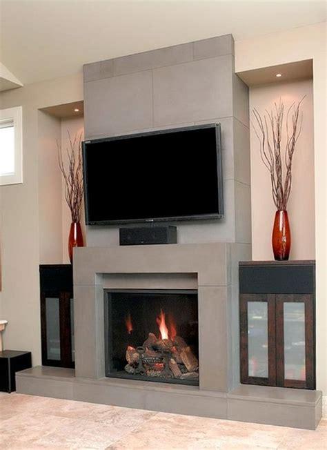 contemporary fireplace designs  tv  home design