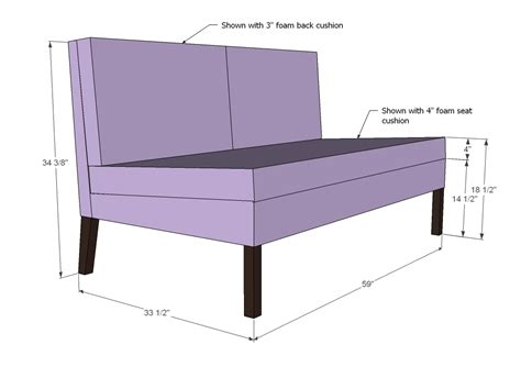 How To Make A Settee by White Upholstered Settee Diy Projects