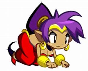 Shantae half genio hero crouching. | Shantae | Know Your Meme