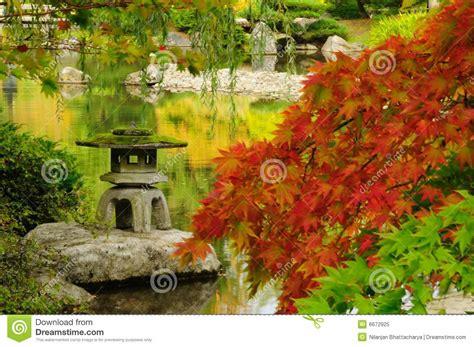 Japanischer Garten Im Herbst by Japanischer Garten Im Herbst In Seattle Stockbild Bild
