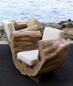 Eco Friendly Reclaimed Wood Seating Furniture Design