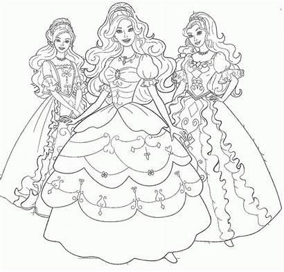 Gambar Mewarnai Barbie Hitam Putih Coloring Untuk