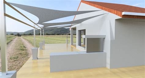 patio with sunshade autodesk gallery