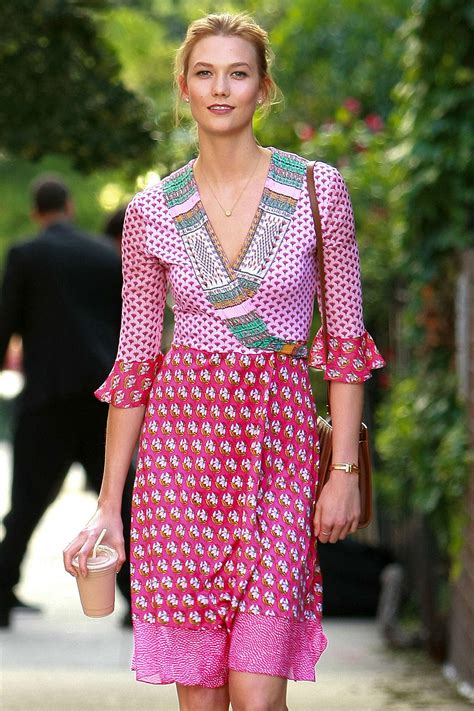 Karlie Kloss Pink Out New York Gotceleb