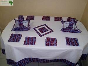 Nappe Pour Table : deco linge maison nappe pour table dakar banabaana ~ Teatrodelosmanantiales.com Idées de Décoration