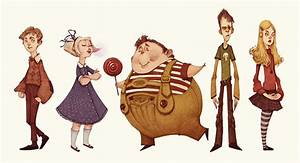 Charlie And The Chocolate Factory (Character Designs) on ...