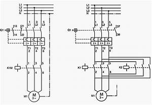 left starter for direct on line starting with circuit With wiring diagram ladder diagram of a forward reverse motor starter