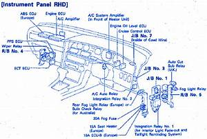 Toyota Gli 1992 Electrical Circuit Wiring Diagram