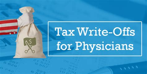 Tax Write Offs What Physicians Need To Know Before April 18
