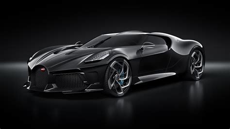 wallpapers bugatti la voiture noire black automobile black