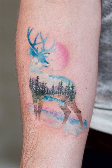 1001 + ideas for a beautiful watercolor tattoo you can steal