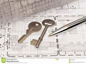 Engineering And Technical Drawing Stock Image