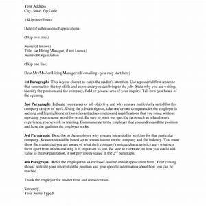 Proper Cover Letter Resume – Letter Format Writing