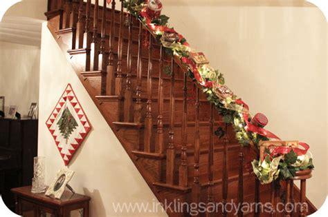 ideas  decorar escaleras en navidad  como