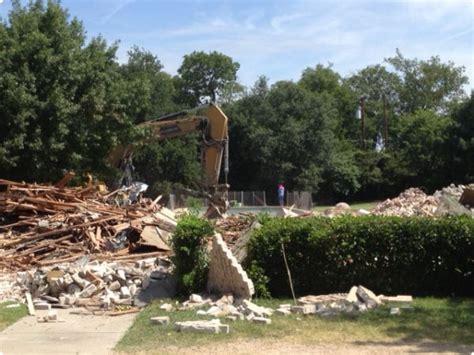 interior residential demolition dallas demolition