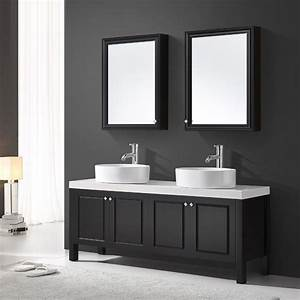 stunning double vasque 100 cm photos lalawgroupus With ensemble vasque salle de bain