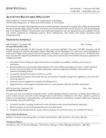 best resume format for accounts manager interview free accounts receivable clerk resume exle