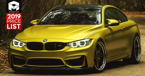 2019 Bmw Cars & Suvs Price List In India (full Lineup