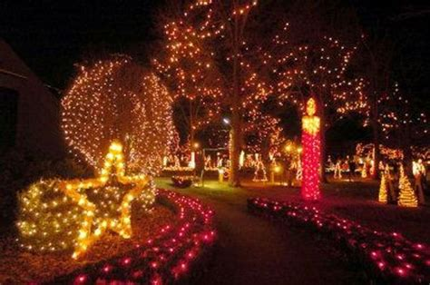 rhode island christmas light displays enjoy the lights of la salette an evening walk rhode
