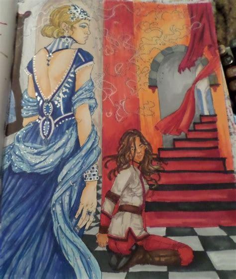 red queen coloring book red queen red queen fan art mare